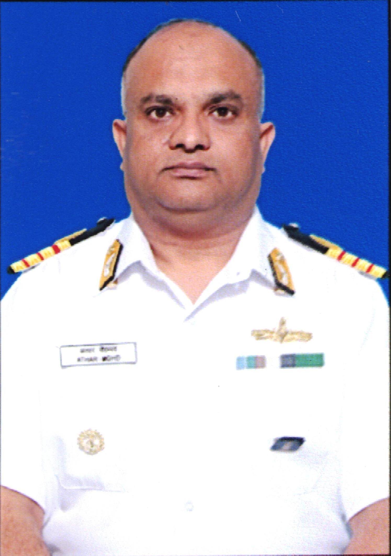 Surg Capt Athar Mohd