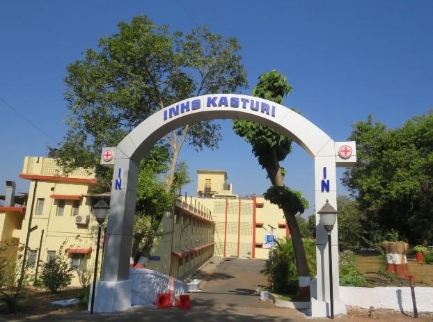 INHS Kasturi – Front Façade