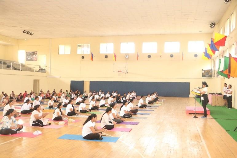 Yoga on NWWA Diwas