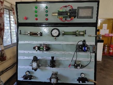 PLC Based Electro-hydraulic Trainer Kit