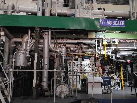 Y-160 Boiler – Live Bay