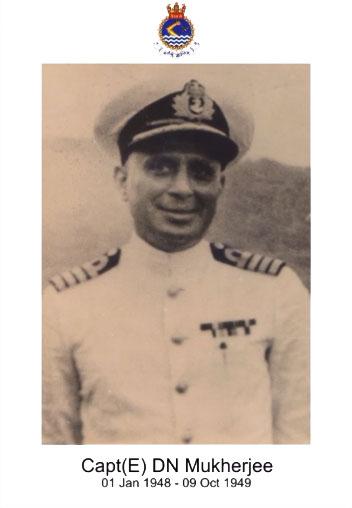 Capt(E) DN Mukherjee