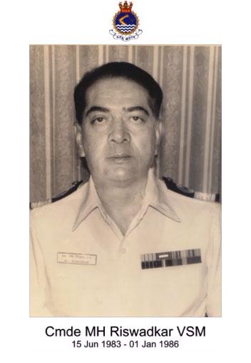 Cmde MH Riswadkar VSM