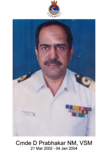 Cmde D Prabhakar NM, SVM