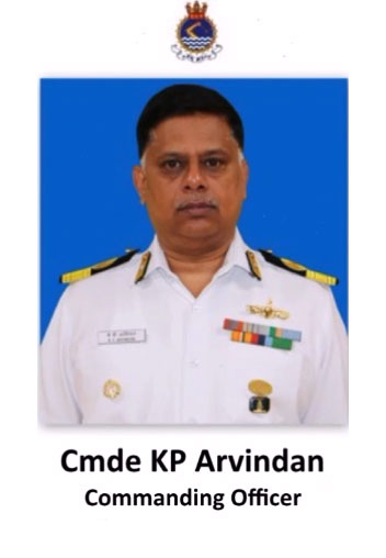 Cmde KP Arvindan
