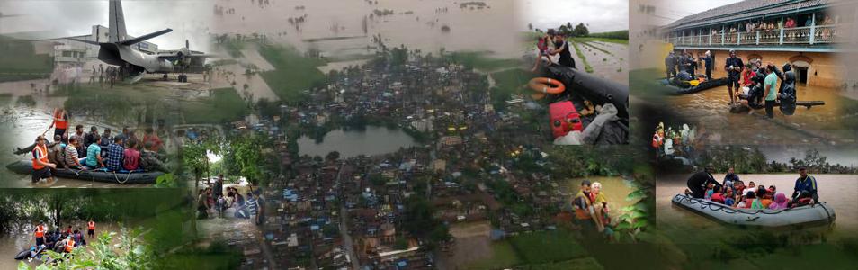 HADR Operations - Maharashtra & Karnataka Floods