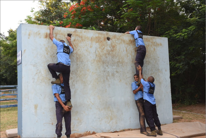 Inter Divisional Obstacle  Competition Conducted at INS Chilka,Odisha