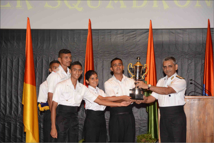 Cheetah Squadron Emerges Victorious in the Inter Squadron Declamation Championship