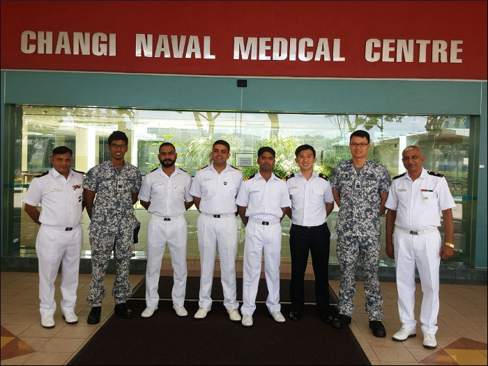 Eastern Fleet Ships on Overseas Deployment to Singapore