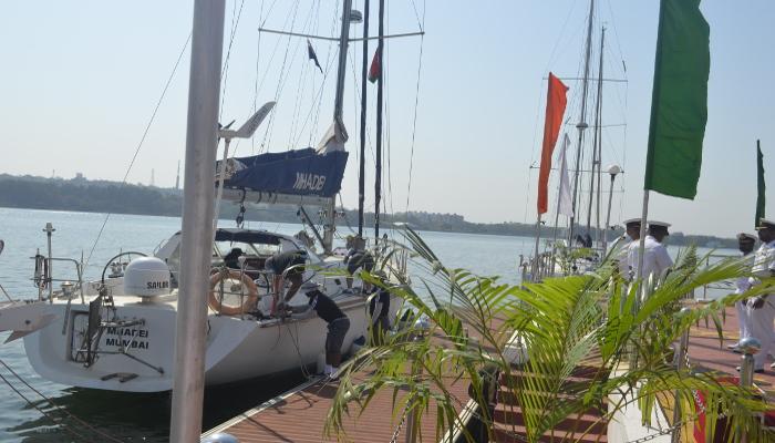 गोवा से बंगाल की खाड़ी अपतटीय नौकायन अभियान को हरी झंडी