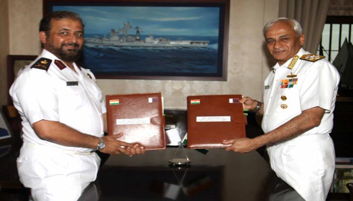 02 से 05 अप्रैल 2019 तक स्टाफ मेजर जनरल (नौसेना) अब्दुल्ला हसन एमए अल-सुलैती, कमांडर कतर एमिरी नेवल फोर्सेज ने भारत का दौरा किया
