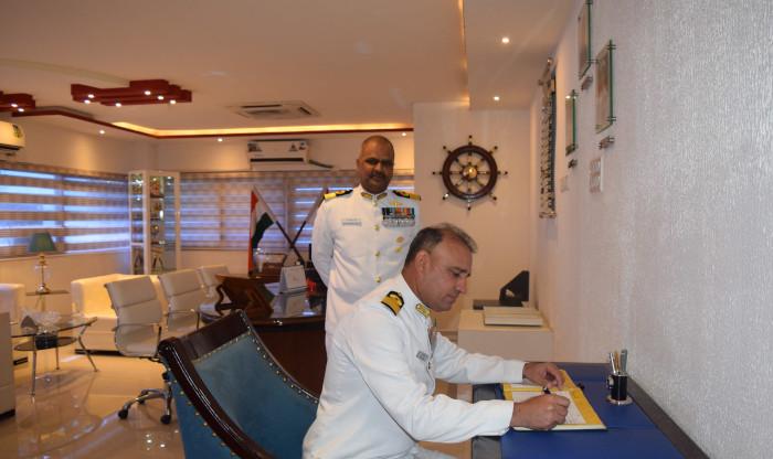 Commodore Mahadevu Goverdhan Raju, NM takes over as Naval Officer-In-Charge (Andhra Pradesh)