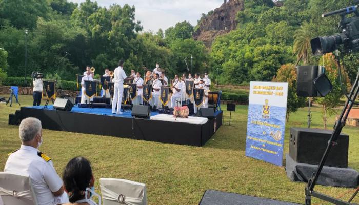 Eastern Naval Command Band Live Performance for Corona Warriors