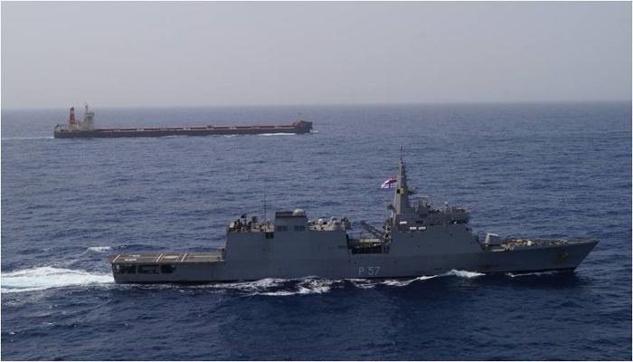 Indian Navy Executes Op Sankalp