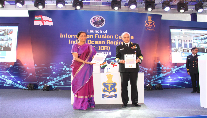 Hon'ble Raksha Mantri Inaugurates Information Fusion Centre – Indian Ocean Region (IFC-IOR)