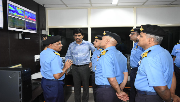 IAAMS Operationalised at NAE Porbandar