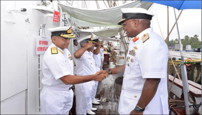 Nigerian Navy Chief Visits Kochi