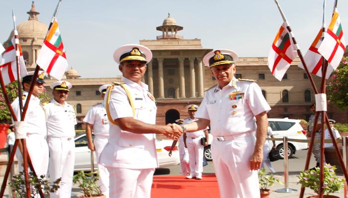 30 मार्च से 02 अप्रैल 2019 तक वाइस एडमिरल पियल डे सिल्वा, श्रीलंका नौसेना के कमांडर का दौरा