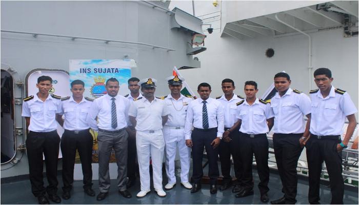 First Training Squadron Ships Visit  Port Victoria, Seychelles