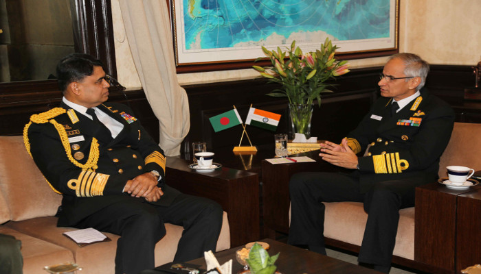 Visit of Admiral Aurangzeb Chowdhury, Chief of Naval Staff, Bangladesh Navy