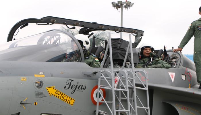 Shri Rajnath Singh Becomes First Raksha Mantri to Fly 'LCA Tejas'