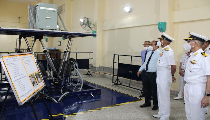 सह-नौसेनाध्यक्ष द्वारा नौसेना पर्यावरण परीक्षण सुविधा के बड़े उन्नयन का उद्घाटन