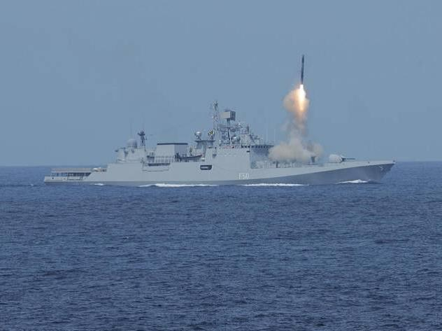 Indian Navy - US Navy Carrier Strike Group Passage Exercise