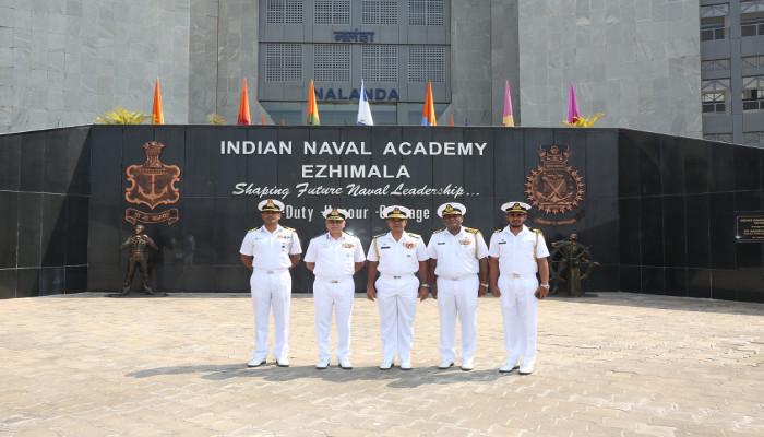Bridges of Friendship – Vice Admiral Piyal De Silva, Commander Sri Lanka Navy Visits Indian Naval Academy, Ezhimala