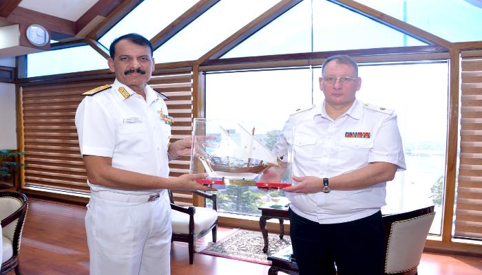 Russian Federation Navy Delegation (RuFN) Visits Indian Naval Academy, Ezhimala