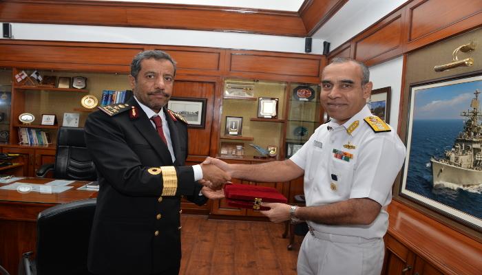 Bridges of Friendship - Staff Brigadier Khalid Naser Al Hajiri Commandant Qatar Naval Academy Visits Indian Naval Academy