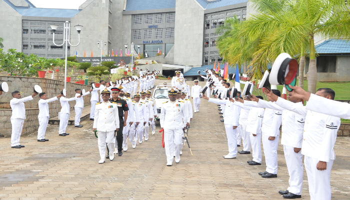 Vice Admiral Dinesh K Tripathi, AVSM, NM Assumes Charge as Commandant Indian Naval Academy, Ezhimala
