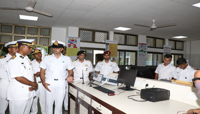 Bangladesh Navy Officers Visit Indian Naval Academy