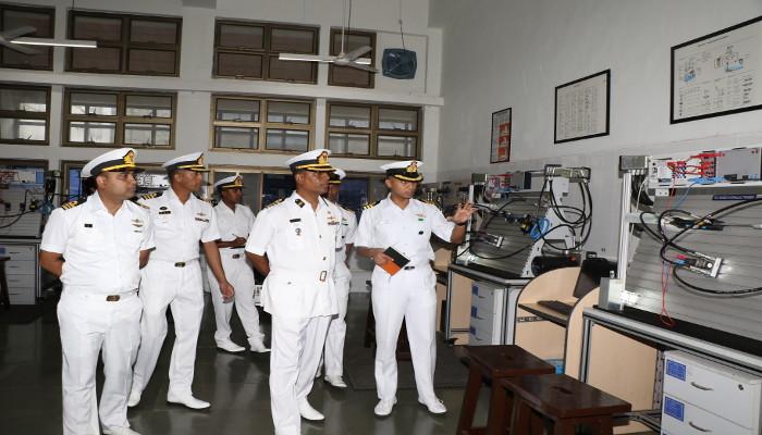 Bangladesh Navy Officers Visit Indian Naval Academy