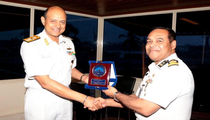 Bangladesh Navy Delegation Visits Kochi