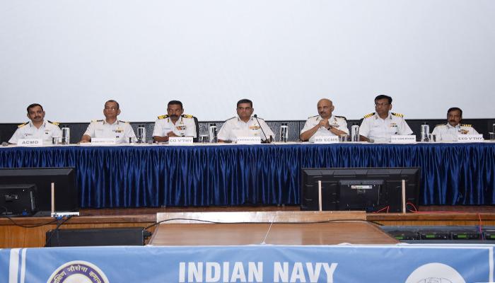 Naval Veterans' Interaction Held at Naval Base, Kochi