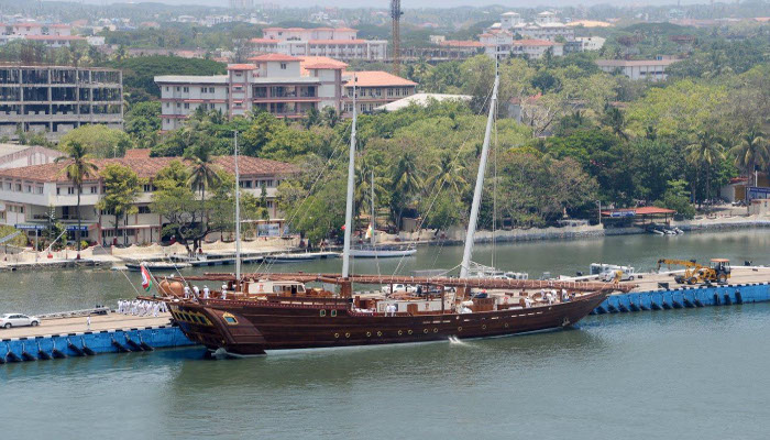 Visit of Oman Navy Vessels