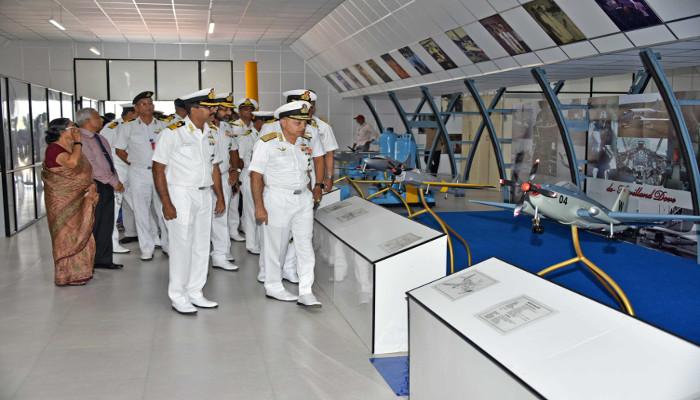 Diamond Jubilee of Naval Aircraft Yard, Kochi