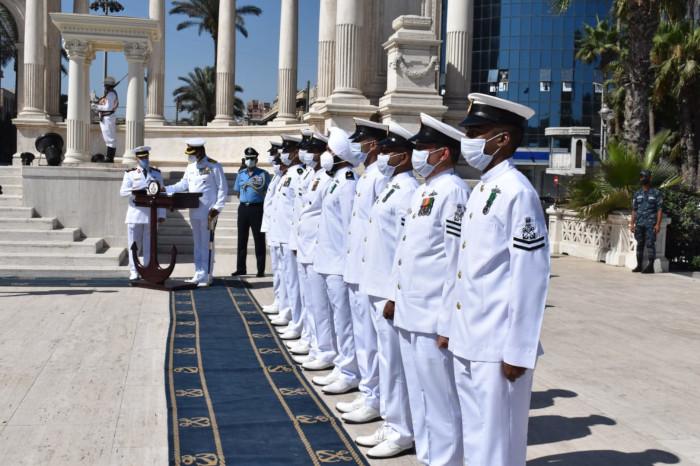 INS Tabar Visits Alexandria, Egypt