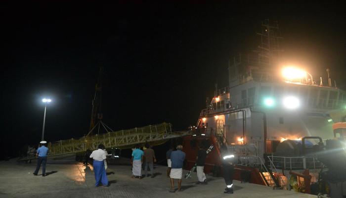 लोनावला में असैन्य नागरिक पोत की मदद लेकर दक्षिणी नौसेना कमान द्वारा मेडिकल निकासी उपलब्ध करवाई गई