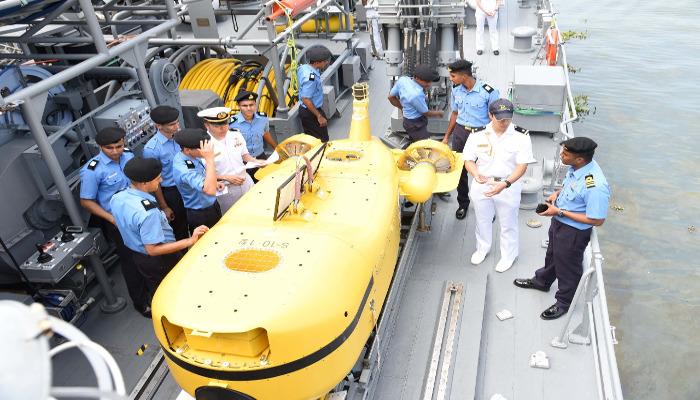 Japanese Navy Ships Visit Kochi
