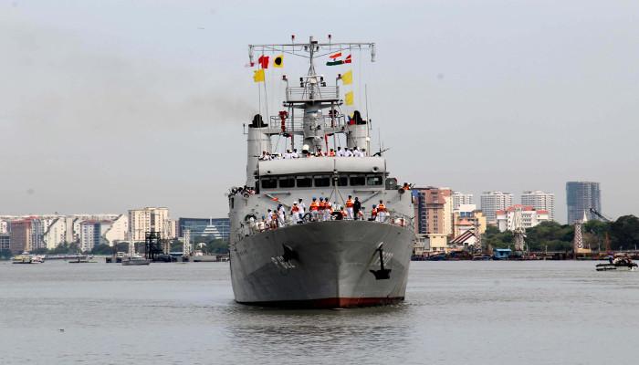 Sri Lanka Navy Ships Visit Kochi