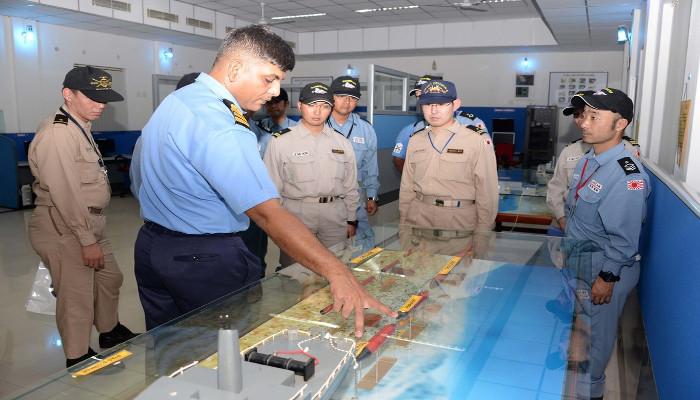 Japanese Navy Ship Visits Kochi