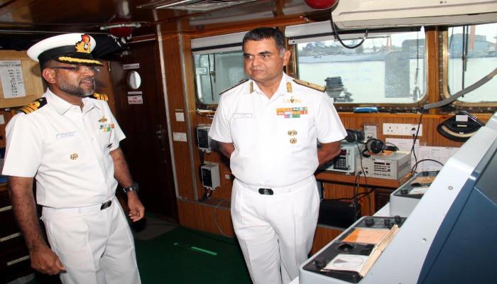 जल सर्वेक्षण करने वाली पोत, भारतीय नौसेना पोत इन्वेस्टिगेटर को दक्षिणी नौसेना कमान, कोच्चि में शामिल किया गया