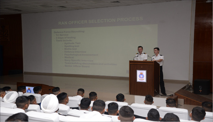 Royal Australian Navy Delegation Visits Indian Naval Academy, Ezhimala