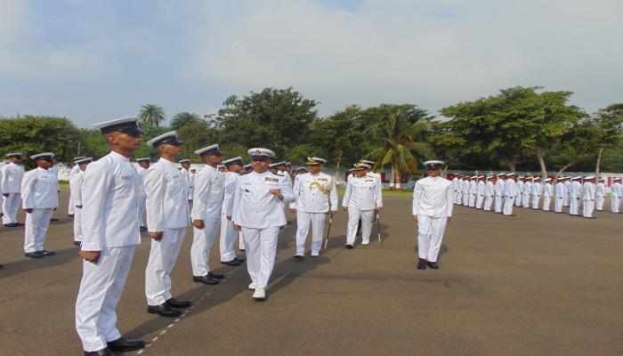 Passing Out Parade of Hull Artificers Held at  INS Vishwakarma