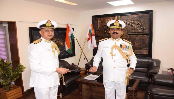 Rear Admiral Sreekumar Nair, NM Takes Over as Admiral Superintendent, Naval Dockyard, Visakhapatnam