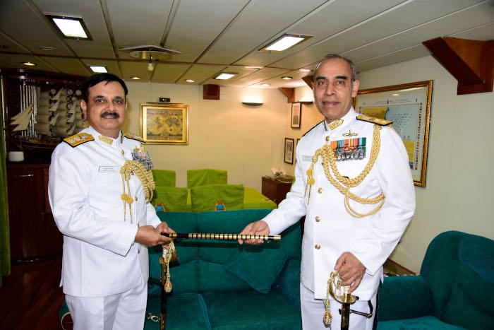 Rear Admiral Tarun Sobti, VSM Takes Over as Flag Officer Commanding Eastern Fleet (FOCEF)