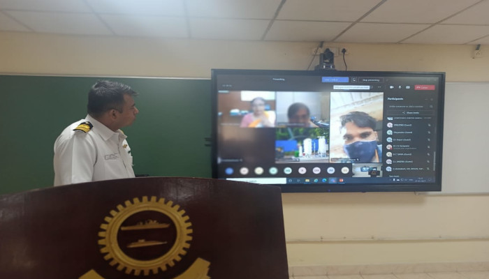 Indian Navy Conducts Skill Development Training Program on Maintenance of PSA Oxygen Plants
