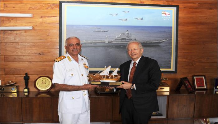 US Ambassador Visits Western Naval Command