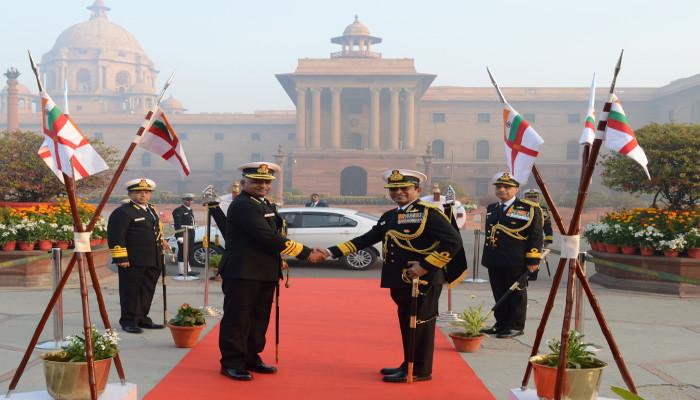 वाइस एडमिरल जी अशोक कुमार, एवीएसएम, वीएसएम ने नौसेना उपाध्यक्ष के रूप में कार्यभार संभाला